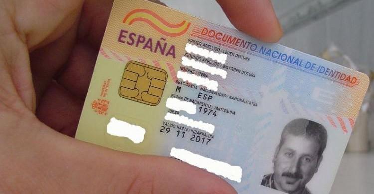 DNI español (Youtube)