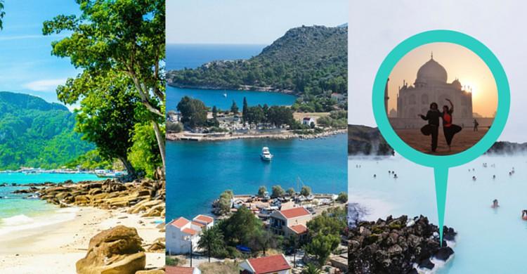 Los 3 destinos recomendados por Mochileando por el mundo (Fotos de iStock y Jeff Sheldon-Unsplash)