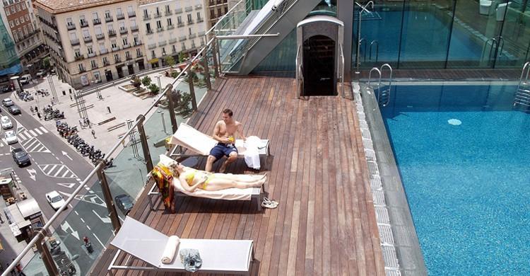 Desde lo más alto. Hotel Santo Domingo (Facebook)