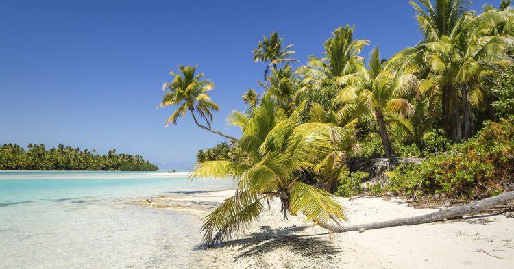 Cala Tapuaetai en las Islas Cook (Flickr: Islas para naufragar)
