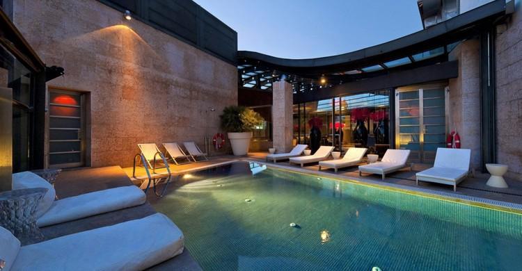 La intimidad de la piscina. Urban (www.hotelurban.com)