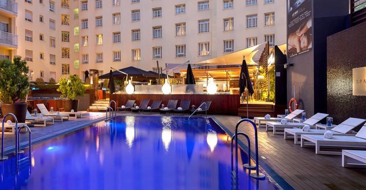 Elegancia nocturna. Hotel Wellington (www.hotel-wellington.com)