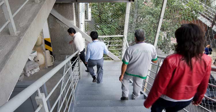 Los ascensores no deben utilizarse en caso de terremoto (iStock)