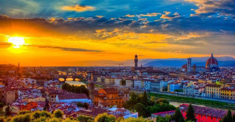 Vista de Florencia (iStock)