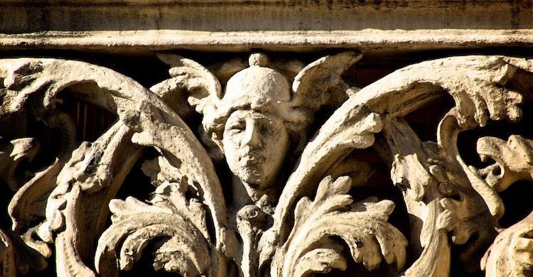 Escultura de Hermes, uno de los símbolos de Barcelona (Flickr)