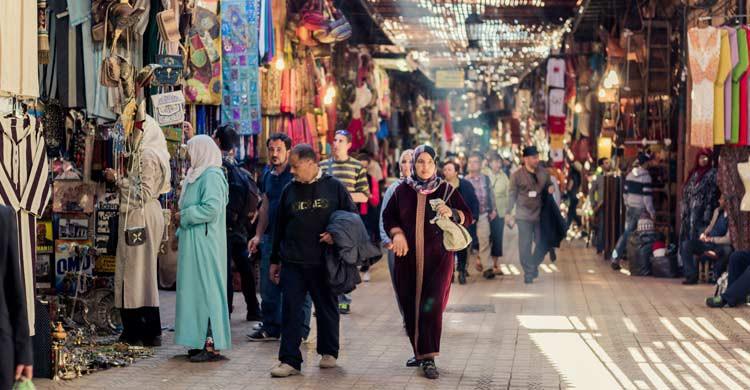 Mercado de Marrakech (iStock)