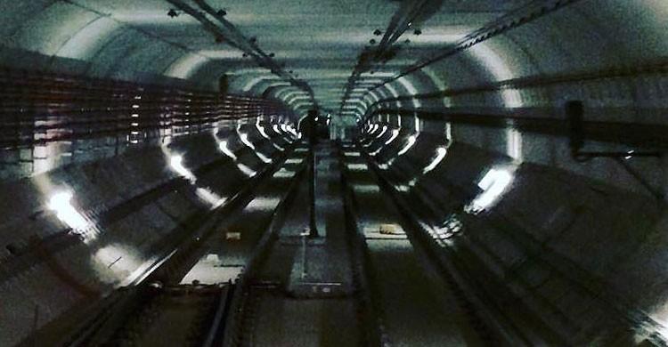 Túnel del metro de Barcelona (Flickr)
