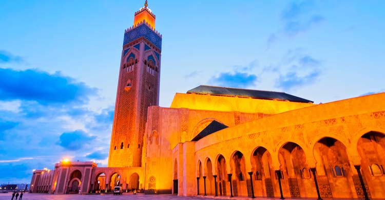 Mezquita de Hassan II en Casablanca (iStock)