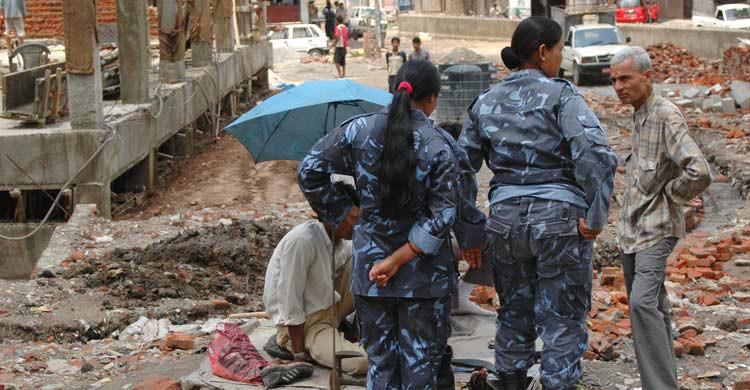Los terremotos en Nepal dejaron en 2015 más de 8.600 víctimas mortales y cerca de 17.000 heridos (iStock)