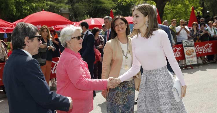 La Reina Doña Letizia ha inaugurado en varias ocasiones la Feria del Libro (casareal.es)