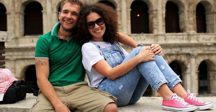 Roma también es un destino idóneo para un romántico viaje (iStock)