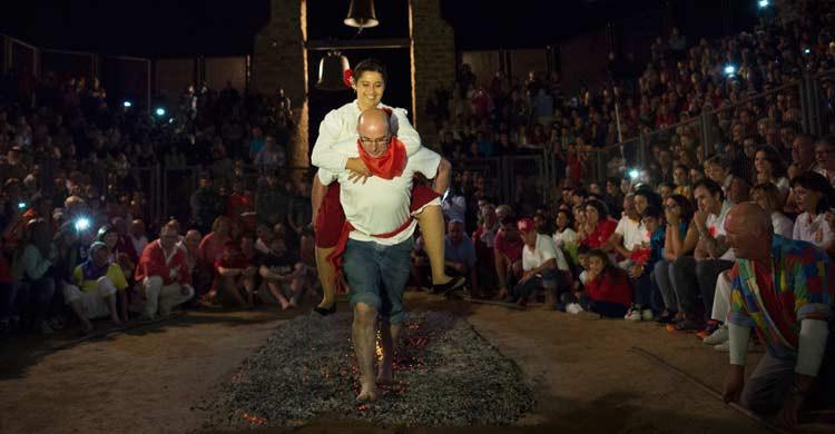 Noche de San Juan en San Pedro Manrique, en Soria. Israel López (Gtresonline)