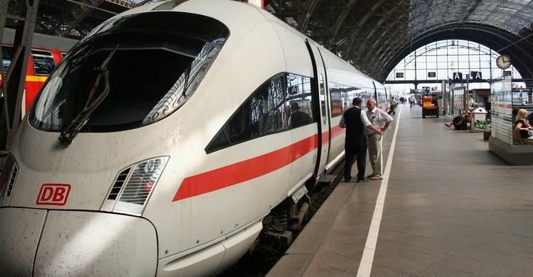 Estación en Leipzig. Martijn (Flickr)