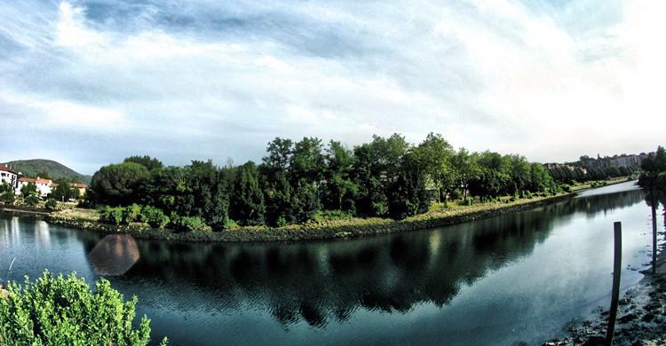 Isla de los Faisanes. Ipar-Ando (Flickr)