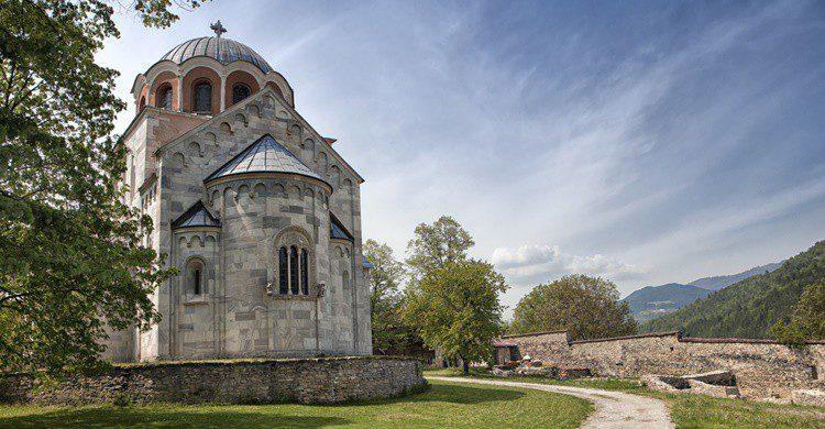 Iglesia del monasterio de Studenica. Gooddenka (iStock)