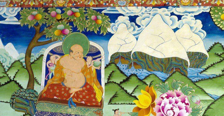 Fresco en un monasterio tibetano del monte Kailash. Tanuki Photography (iStock)