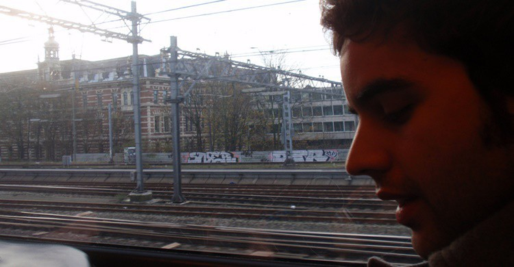 Viaje en tren. Hipólito Lobato (Flickr)