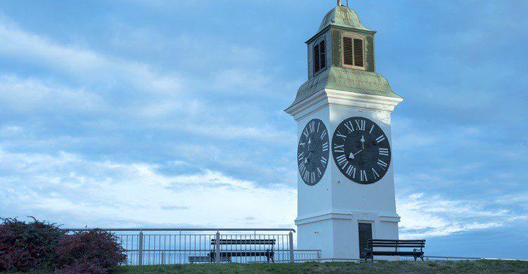 Torre del reloj de Novi Sad. Bojan Bokic (iStock)