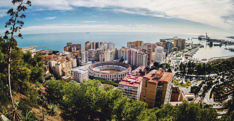 Vista de Málaga. Amoklv (iStock)