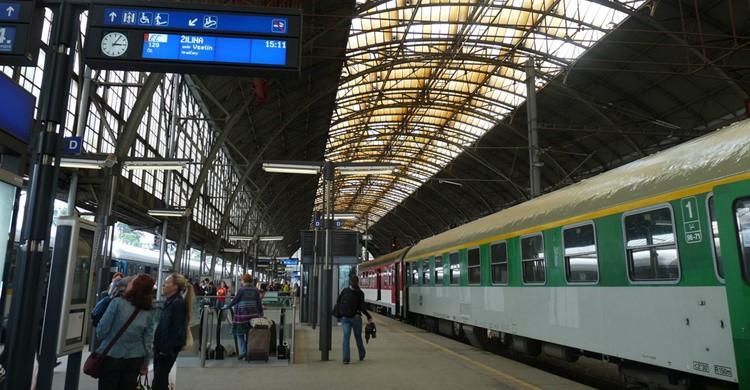Estación de tren. Javier Blesa Martínez (Flickr)