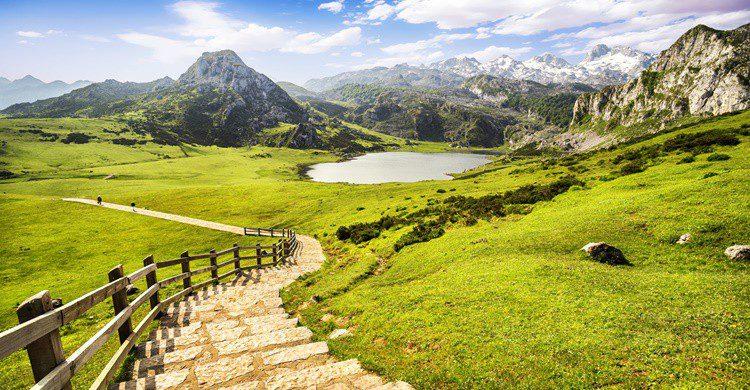 Lagos de Covadonga en Asturias. MarquesPhotography (iStock)