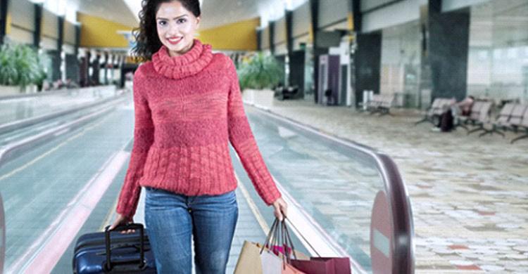 Compras aeropuerto (iStock)