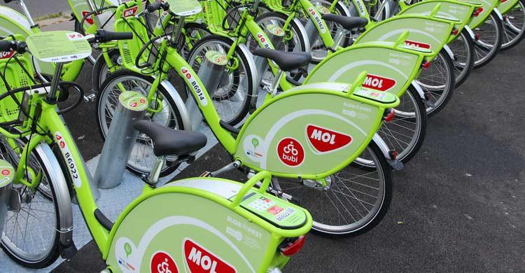 Desde 2014 está activo el servicio de alquiler de bicicletas en Budapest (iStock)
