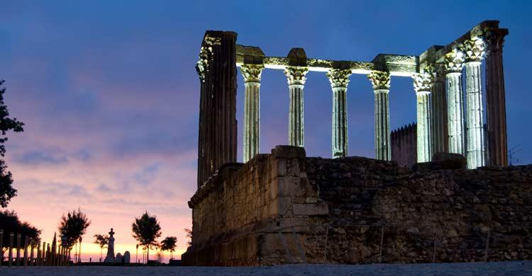 Templo de Diana, en Évora (iStock)