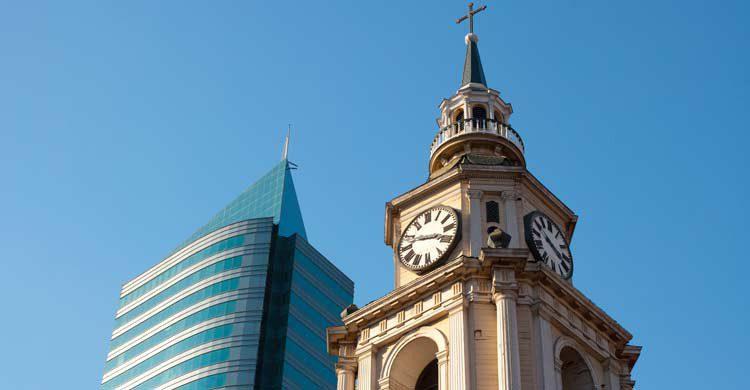 Iglesia de San Francisco en Santiago de Chile (iStock)