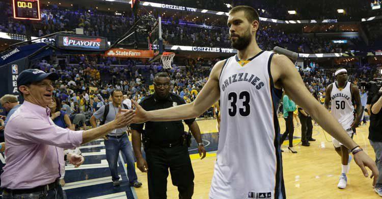 Marc Gasol está plenamente integrado en Memphis y en su franquicia, los Grizzlies. AP Photo (Gtres)