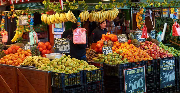 Mercado Central de Santiago de Chile (iStock)