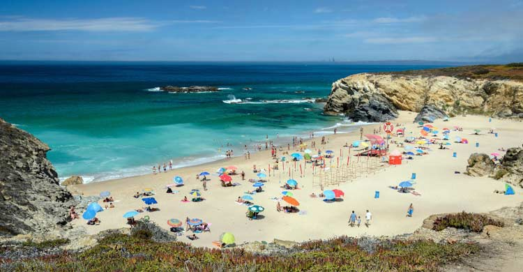 Playa en Porto Covo, Sines (iStock)