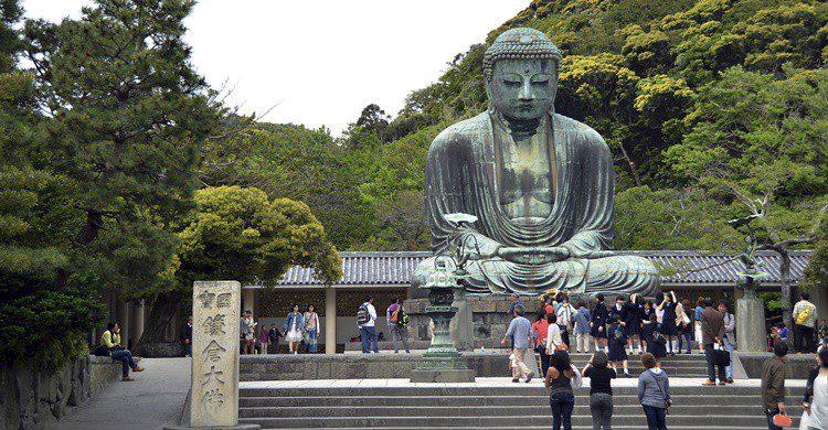 Gran Buda del templo de Kotokuin. Takenobu (iStock)