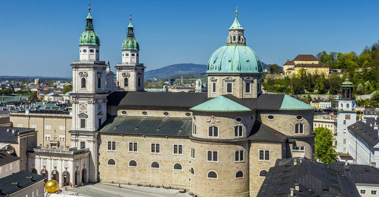 Imagen de la catedral de Salzburgo. Meinzahn (iStock)