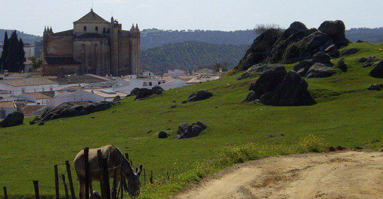 Cazalla de la Sierra. Julen Iturbe-Ormaetxe (Flickr)