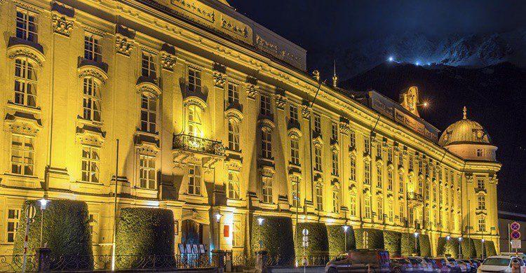 Palacio Imperial de Innsbruck. Leonid Andronov (iStock)