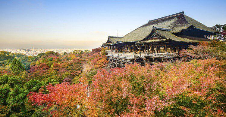 Templo de Kiyomizu. Sean Pavone (iStock)