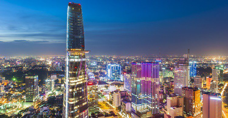 Vista de Ho Chi Minh City. FabVietnam_Photography (iStock)