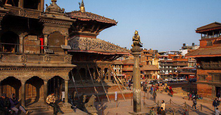 Patan Durbar Square. Indrik myneur (Foter)