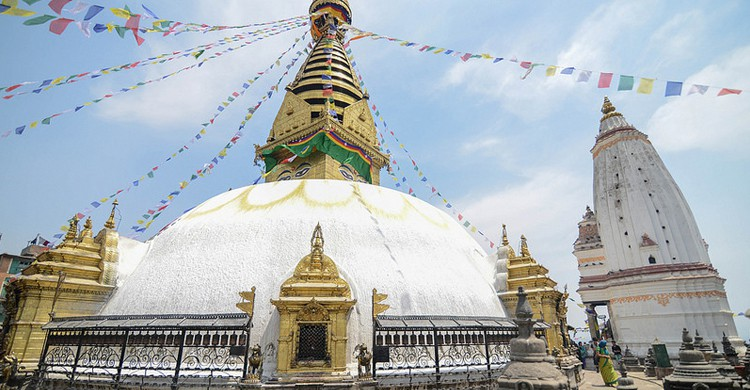 Estupa Swayambhunath. Jorge Lascar (Foter)