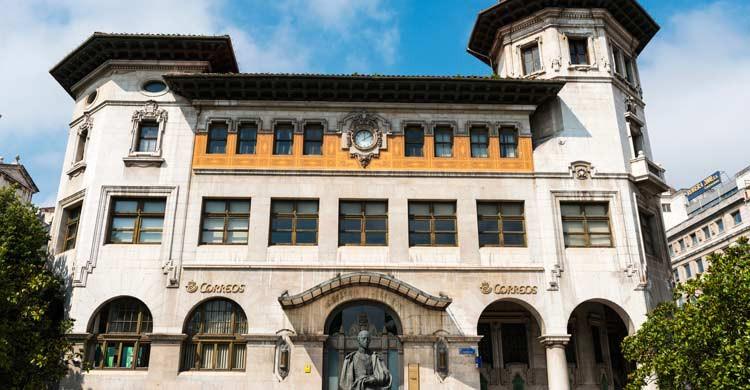 El edificio de Correos se salvó del incendio de 1941 (iStock)