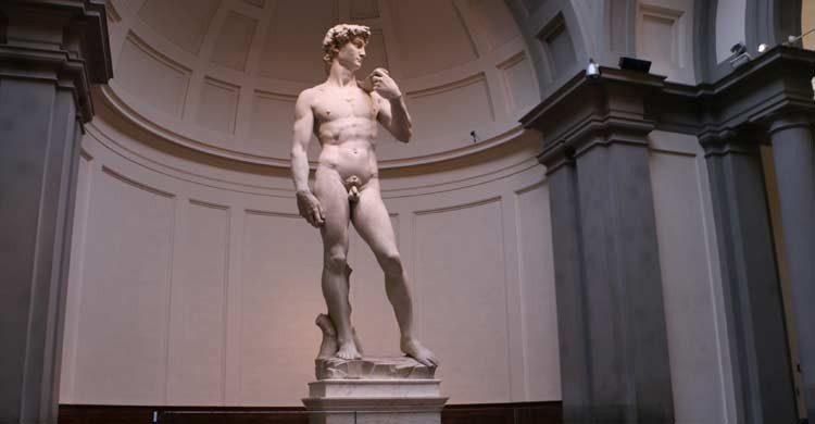 El David de Miguel Ángel, está en la Galería de la Academia, Florencia (academia.org)