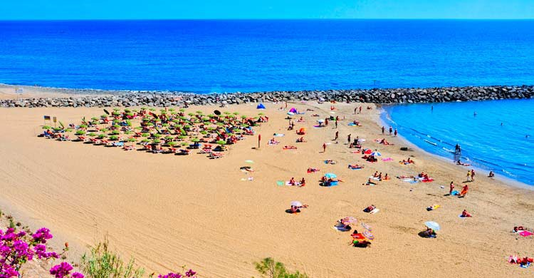 Playa del Inglés en Maspalomas (iStock)