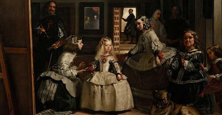 Las Meninas, en el Museo del Prado de Madrid (wikimedia.org)