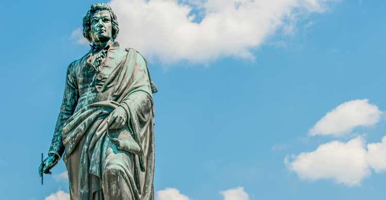 Estatua dedicada a Mozart (iStock)