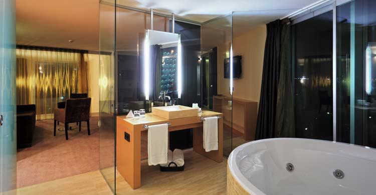 Hotel Gran Palas, en La Pineda, Tarragona (granpalashotel.com)