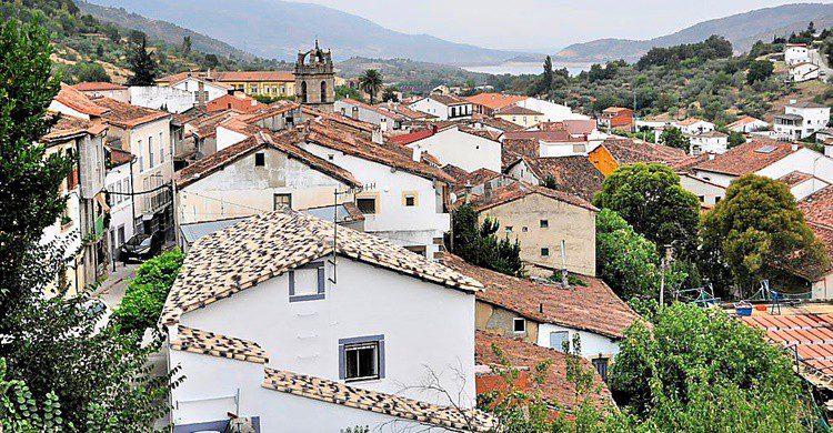 Vista general de Baños de Montemayor. Jose Antonio Cotallo López (Flickr)