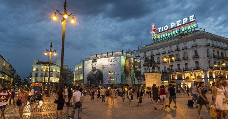 Puerta del Sol de Madrid. PurpleImages (iStock)