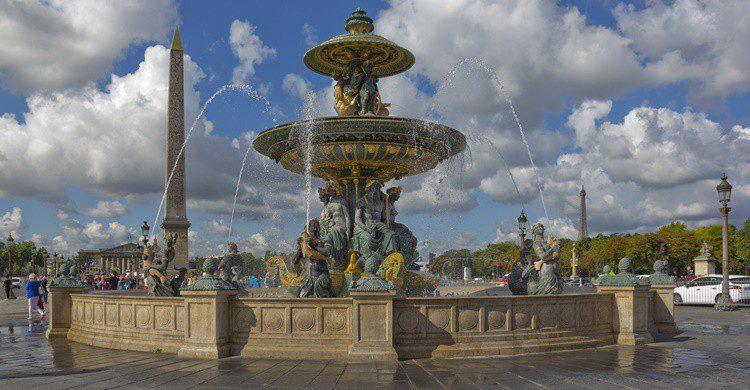 Plaza de la Concordia en París. Walencienne (iStock)