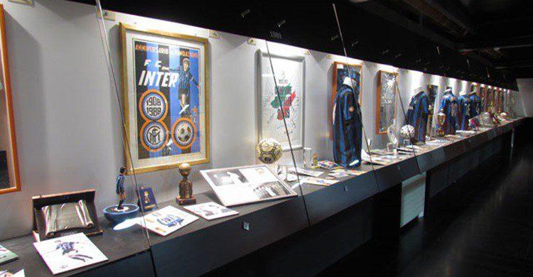 Sala del museo dedicada al Inter (http://www.sansiro.net/?page_id=1757&lang=en)